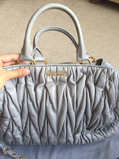 Miu Miu Tote in Grey