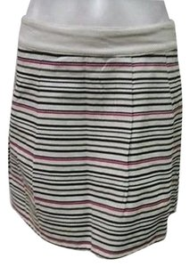 Tulle Multicolor Stripe Skirt Multi-Color