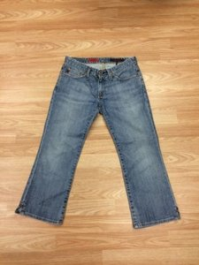 AG Adriano Goldschmied Cropped The Saga 26r Capri/Cropped Denim