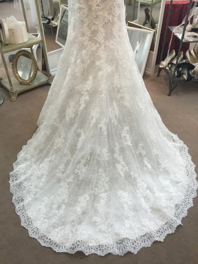 Sophia Tolli Ivory/Alabaster Lace and Tulle Lavinia Y11322 New Traditional Wedding Dress Size 12 (L) Image 3