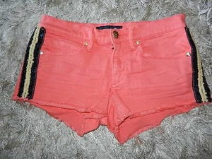 Juicy Couture With Cut Off Shorts Orange