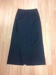 Ralph Lauren Rl Long Maxi Skirt Black
