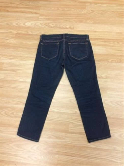 J Brand J Cropped Dark Capri/Cropped Denim