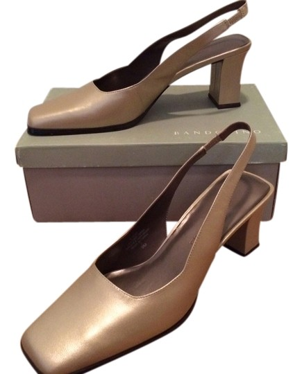 Bandolino Gold Pumps