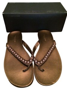 Kenneth Cole Reaction Bronze Sandals