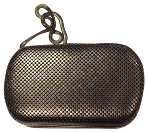 Whiting & Davis Gun Metal Clutch