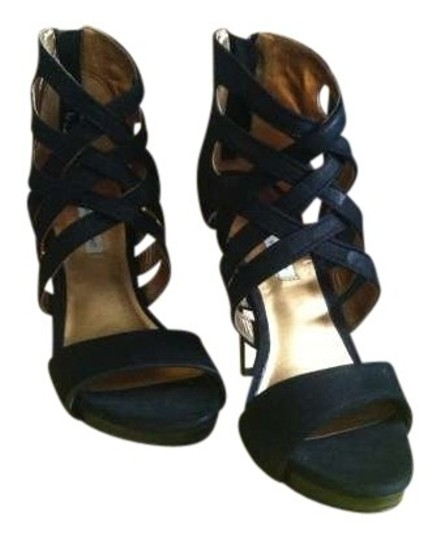 Twelfth St. by Cynthia Vincent Leather Sole Black Pumps