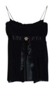Moda International Top Black
