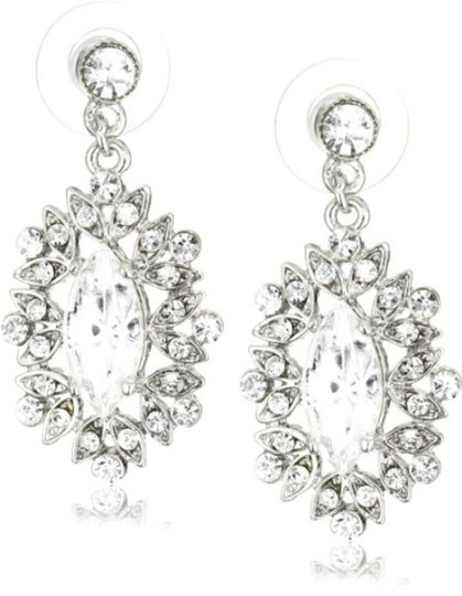 Czech Crystal Vintage Earrings