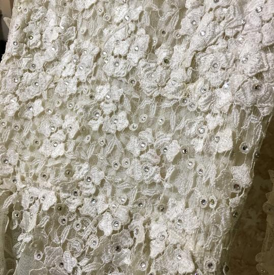 Off White Traditional Wedding Dress Size 10 (M)