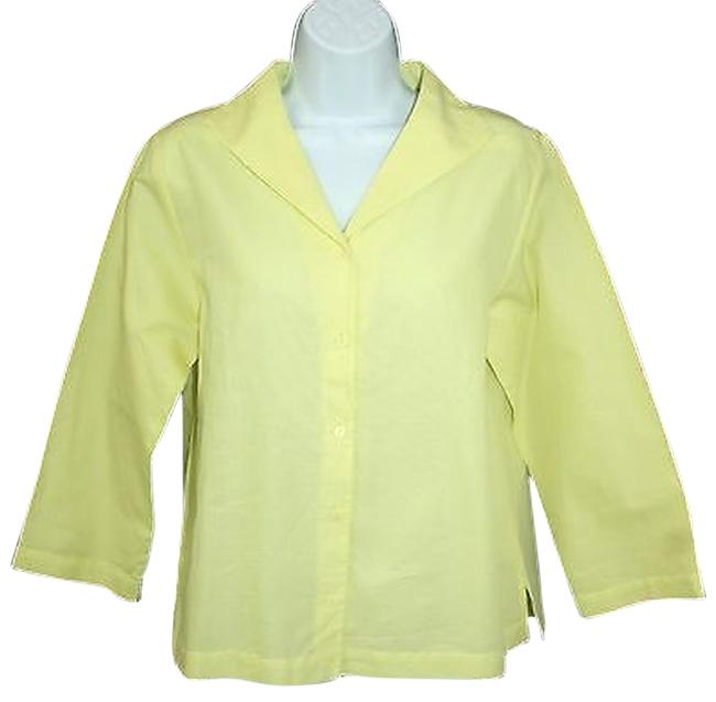 Preload https://img-static.tradesy.com/item/3285478/eileen-fisher-buttoned-cotton-s-blouse-size-6-s-0-0-650-650.jpg
