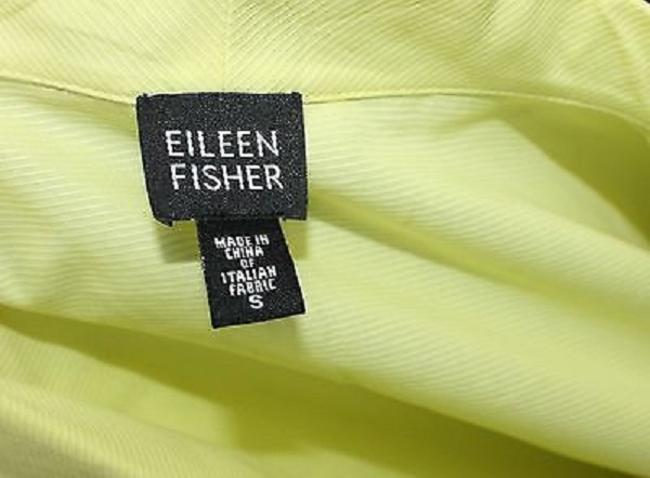 Eileen Fisher Cotton Yellow S Top