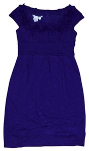 Maggy London short dress Purple on Tradesy
