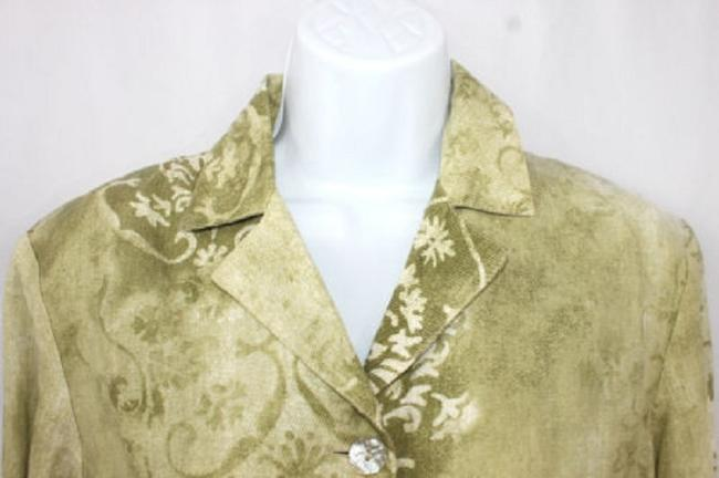 Other Lino Linen Italy Blouse Button Down Shirt Image 1