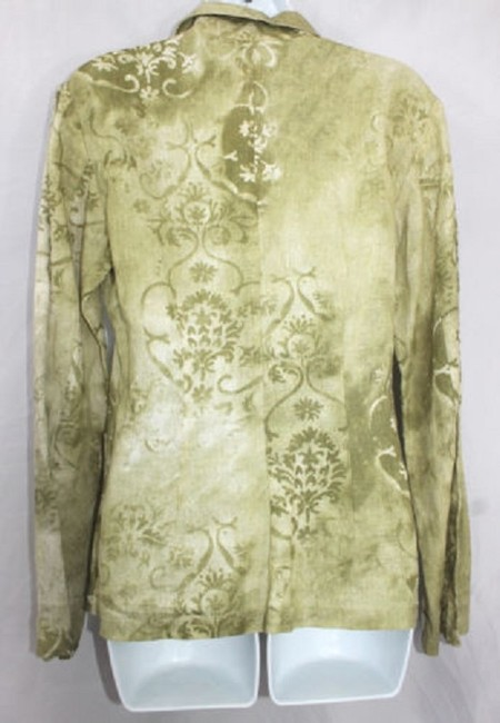 Other Lino Linen Italy Blouse Button Down Shirt Image 2