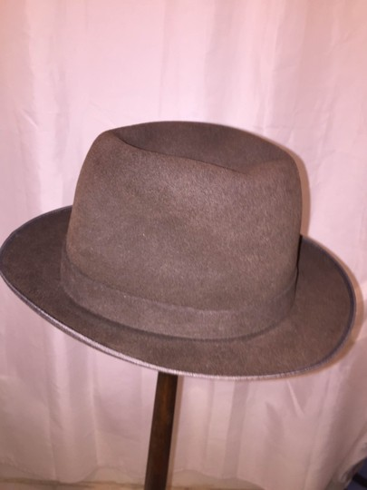 Stetson 835) NWT auth STETSON size SMALL 7 brown FUR FELT hat CHARGER retail $229