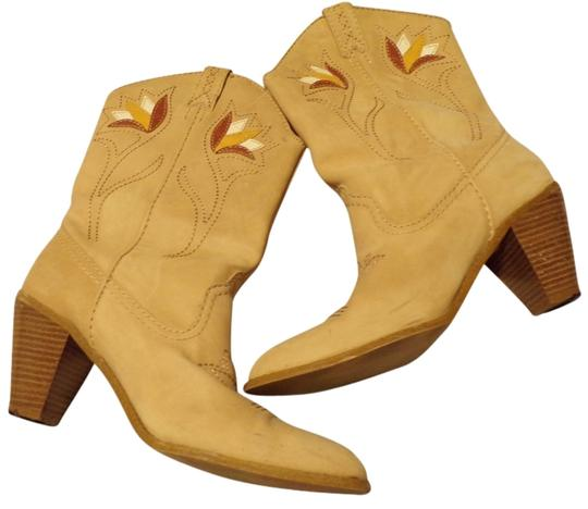 Rampage Tan Leather Western Boots