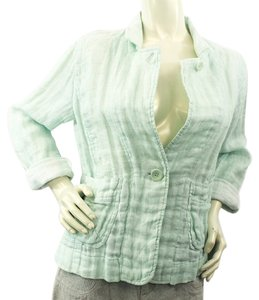 Eileen Fisher Light Green Blazer