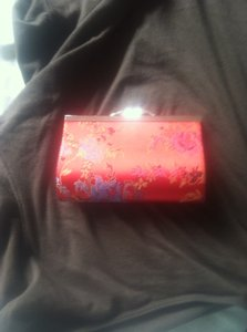 Liz Beth red Clutch