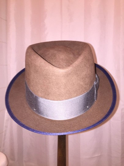 Stetson 827) NWT auth STETSON brown FUR FELT HAT size MEDIUM retail $229