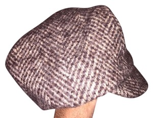 Stetson 826) NWT auth STETSON wool houndstooth HAT dsign sample SIZE L Retail: $199
