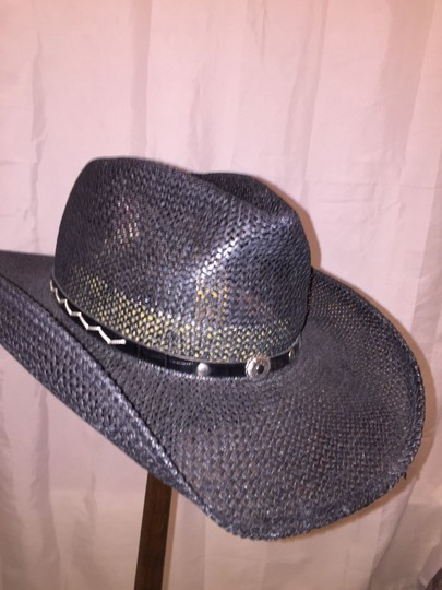 Stetson 824) NWT auth STETSON Rodeo Drive HAT design sample SIZE M retail: $299