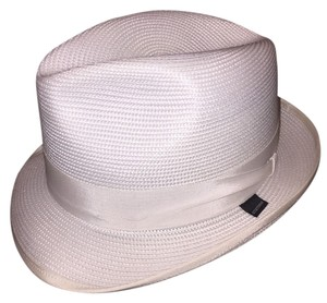 Stetson 820) NWT auth STETSON GLAZED PAPER Latte HAT design sample SIZE M retail: $250