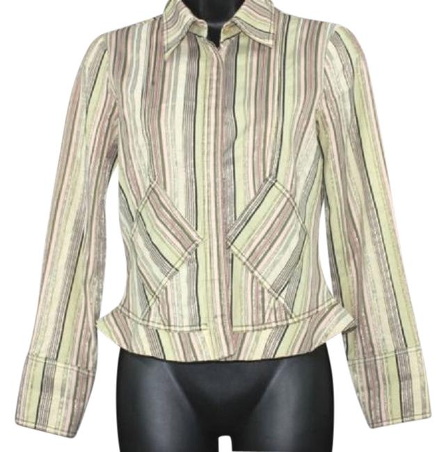 Preload https://img-static.tradesy.com/item/3286720/etro-milano-stripes-print-cotton-blend-blouse-42-made-in-italy-button-down-top-size-8-m-0-0-650-650.jpg