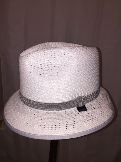Stetson 819) NWT auth STETSON glazed PAPER Harmony HAT dsign sample SIZE S retail: $250 Image 2