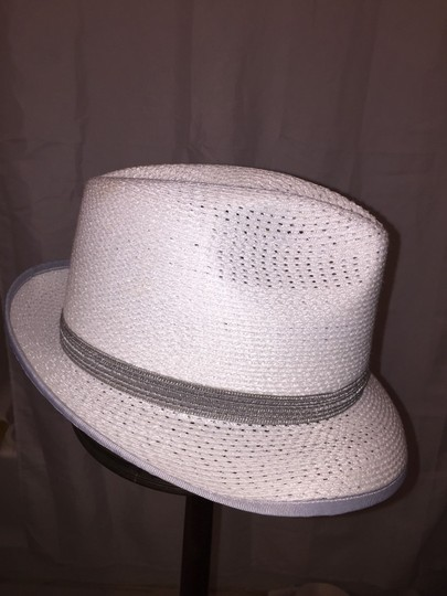 Stetson 819) NWT auth STETSON glazed PAPER Harmony HAT dsign sample SIZE S retail: $250 Image 3