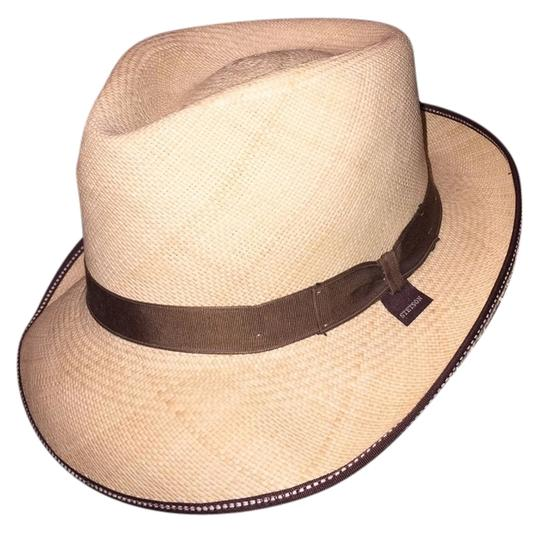 Preload https://item3.tradesy.com/images/stetson-tan-817-brewster-fedora-design-sample-size-s-retail-hat-3286822-0-0.jpg?width=440&height=440