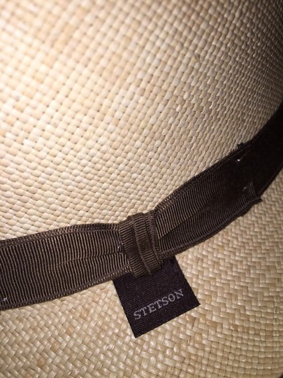Stetson 817) NWT auth STETSON Brewster Fedora HAT design sample SIZE S retail: $250