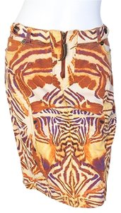 Just Cavalli Skirt Animal Print