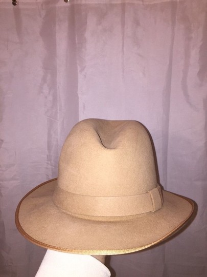 Stetson 815) NWT auth STETSON fur CHARGER hat design sample SIZE M retail: $299
