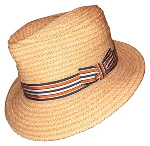 0fa04be4967ed4 Stetson 811) NWT auth STETSON woven grass HAT design sample SIZE M retail:  $229