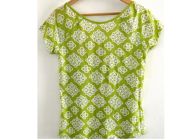 Gap Cotton Top grass-green