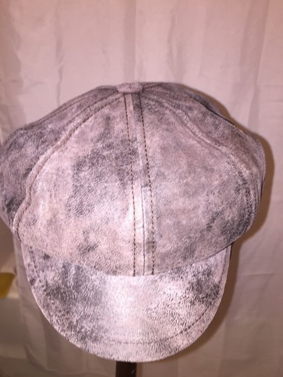 Stetson 807) NWT authentic STETSON leather HAT design sample SIZE M retail: $279