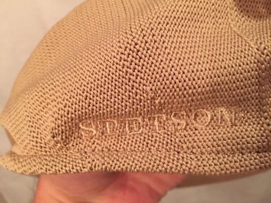 Stetson 805) NWT auth STETSON knit cotton HAT design sample SIZE M retail: $199.99 Image 2