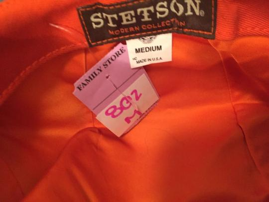 Stetson 802) NWT auth STETSON modern HAT design sample SIZE M retail: $199 Image 1
