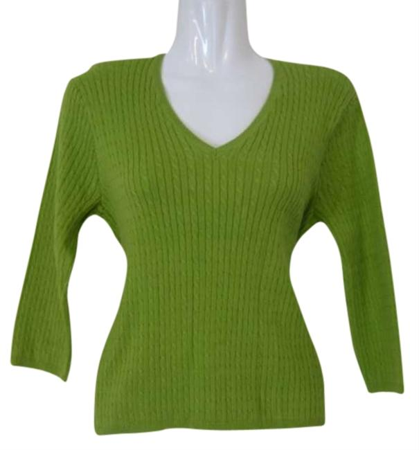 Wainscott Petite Apple 3/4 Sleeve Sweater