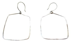 Tumbleweed Bead Co. Tumbleweed Bead Co. Shape Hoop Earrings - Square Medium