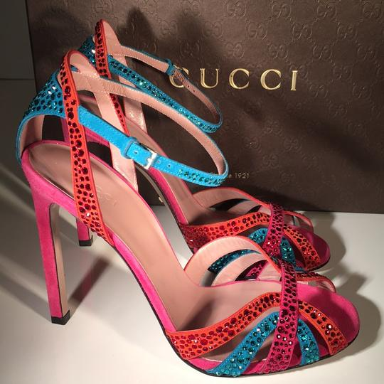 Gucci Red / Blue Formal
