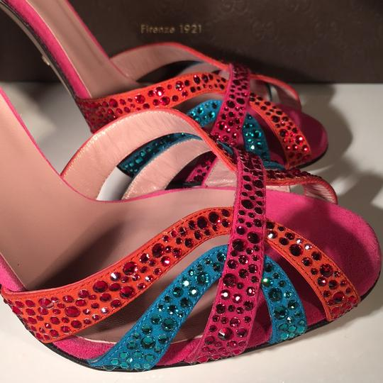 Gucci Red / Blue Formal Image 11