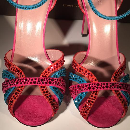 Gucci Red / Blue Formal Image 4