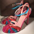 Gucci Red / Blue Formal Image 5