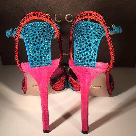 Gucci Red / Blue Formal Image 6