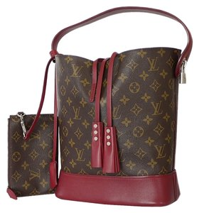 Louis Vuitton Limited Edition Satchel in Rubis, Red