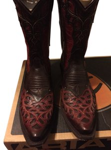 Ariat Maple/Rojo Boots