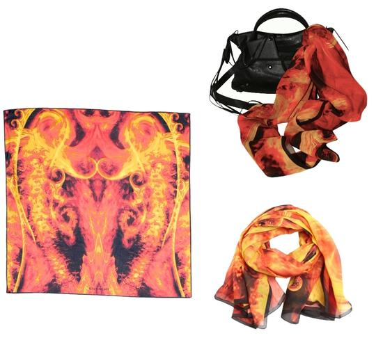 Preload https://item1.tradesy.com/images/givenchy-red-yellow-orange-black-flame-fire-motif-scarf-wrap-shawl-2014-collection-scarfwrap-3289555-0-0.jpg?width=440&height=440