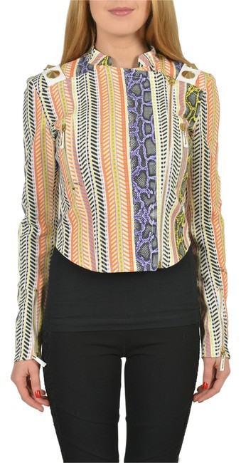 Preload https://item2.tradesy.com/images/just-cavalli-multi-color-full-zip-women-s-cropped-basic-size-4-s-3289921-0-0.jpg?width=400&height=650